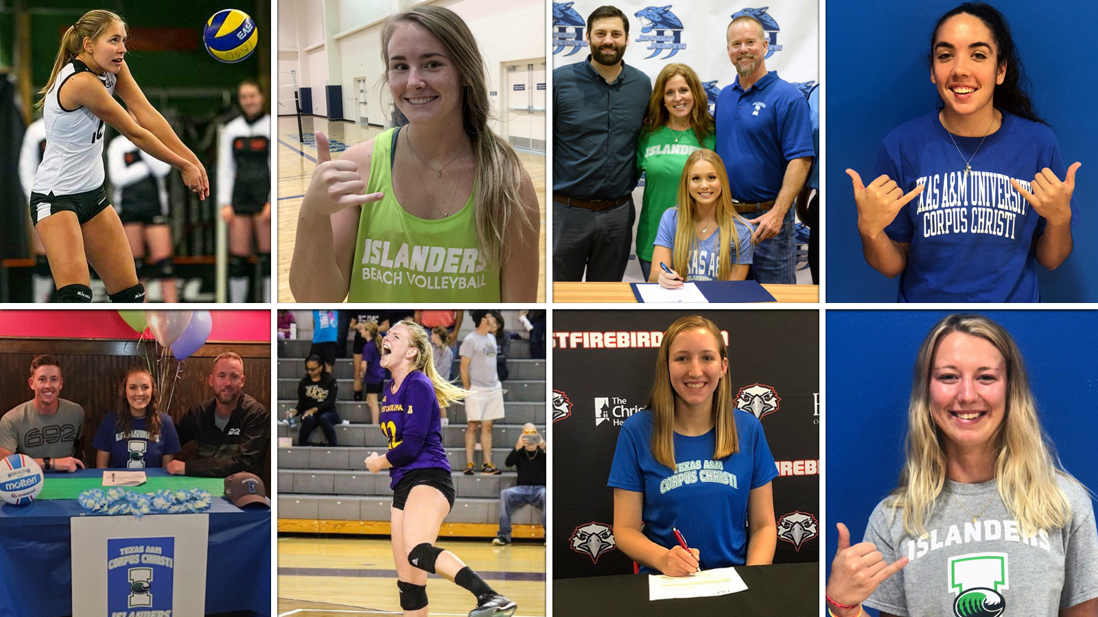 Beach Volleyball Adds Eight To 2019 Roster Texas A M Corpus Christi Athletics